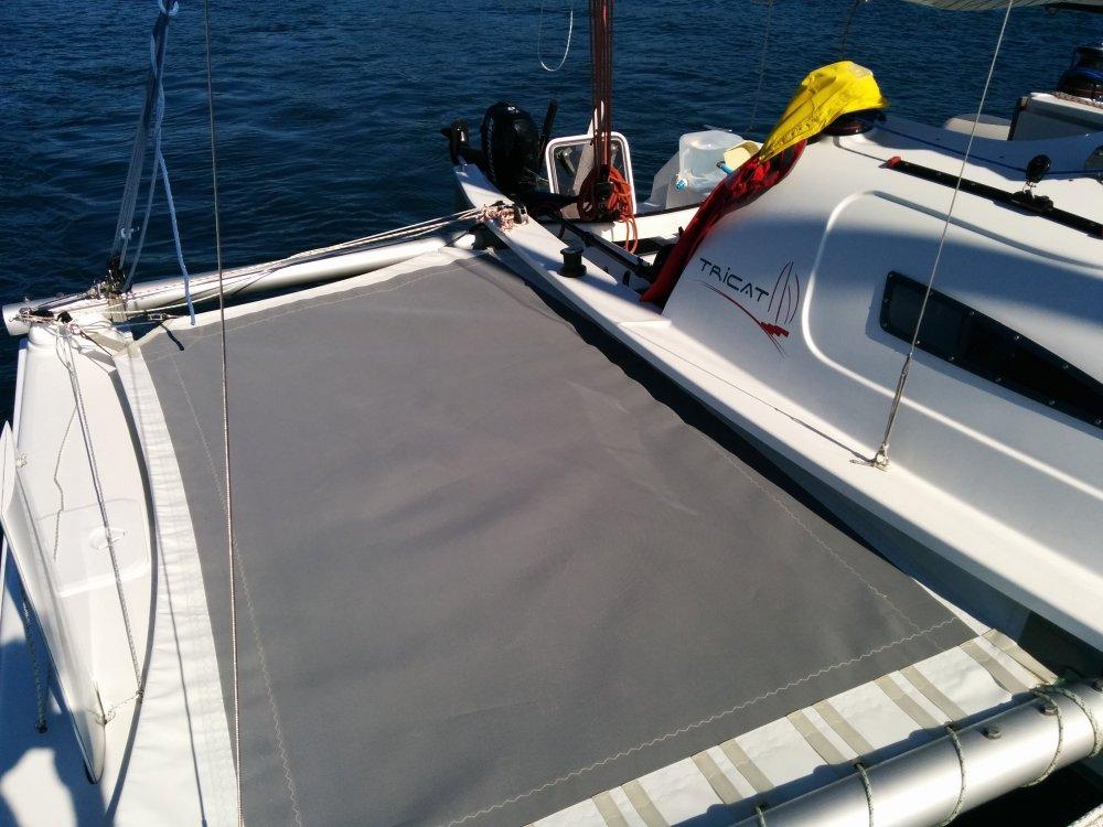 Trampoline tribord