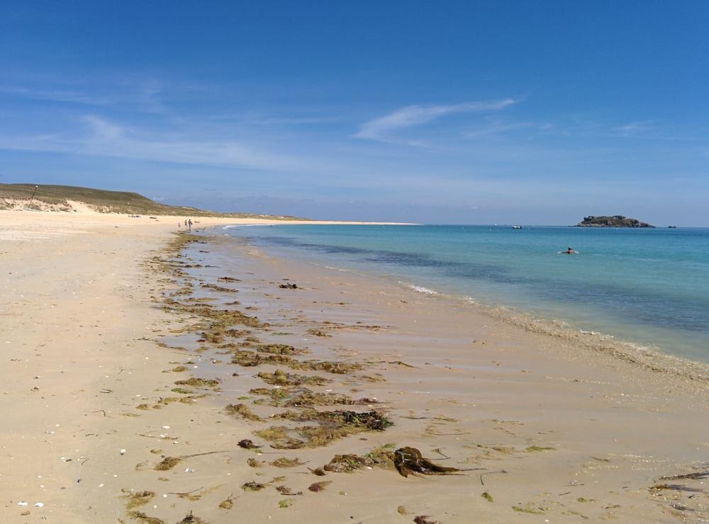 Plage du Gouret au sud-est de l'île de Houat